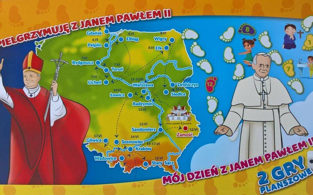 Pamiątki z wizyty Jana Pawła II w Zamościu
