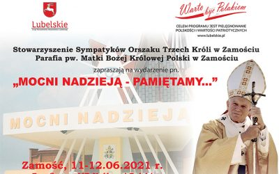 Obchody 22 rocznicy pobytu Jana Pawła II w Zamościu